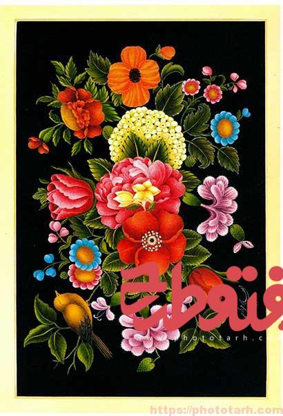 020 - تصویر باکیفیت گل و مرغ